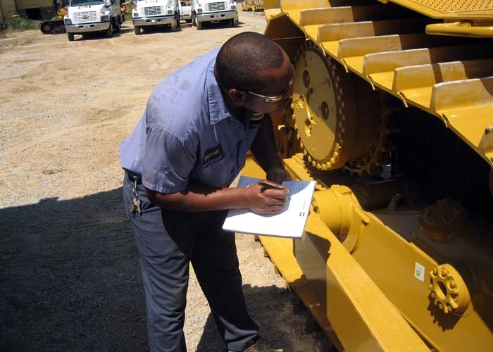 Tipos de mantenimiento de maquinaria pesada